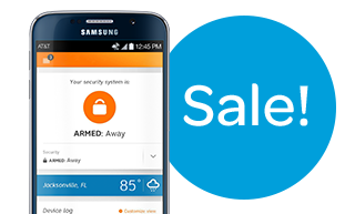 Smart Security package equipment for $0.99* +tax when you sign up for AT&T Digital Life. (package includes $700 in equipment if purchased separately).